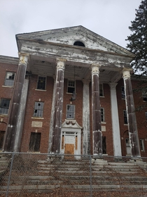 Abandoned psychiatric hospital in Connecticut