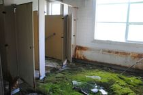Abandoned Sanatorium Bathroom
