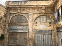 Abandoned shopspossibly stores dating back to the Knights of St John Valletta Malta