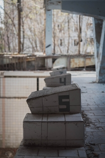 Abandoned Swimming Pool in Pripyat Taken by Me