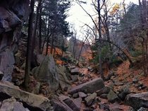 Absolutely Beautiful here Purgatory Chasm Sutton Massachusetts  x