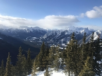 Amateur shot of the Canadian Rockies x