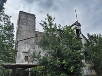 An abandoned watermill previously owned by McDougalls