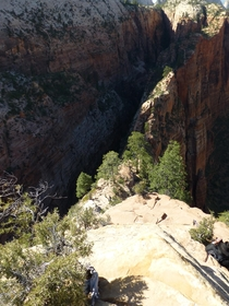 Angels Landing trail Zion NP