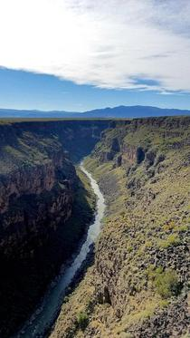 Any love for the Rio Grande Gorge outside Taos New Mexico x