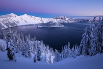 - at Crater Lake NP -