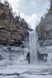 - at Taughannock Falls after a  mile walk in Definitely pretty