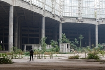billion unfinished and abandoned mall complex in China This underground section shows - of the total construction OC