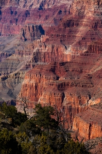 billion years of rock carved out at Grand Canyon NP Arizona