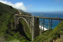 Bixby Bridge Pacific Coast Hwy California by