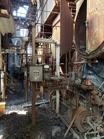 - boiler I came across This was a mill factory for cotton built in the s More pictures in the comments