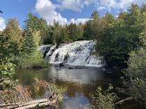 Bond Falls - Ontonagon River in Michigans Upper Peninsula