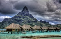 Bora Bora Clouds by vgm8383