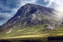 Buachaille Etive Mr at Glencoe in the Highlands of Scotland  x