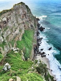 Cape Point South Africa The southernmost tip of the continent Atlantic Ocean on the right side Indian Ocean on the left x