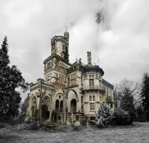 Chica castle  Abandoned Mansion Portugal  Braga