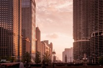 Chicago by Sunset Noir