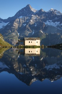 Church in Schwarzsee Switzerland Jeff Pang