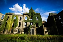 Closer Photo of Roosevelt Islands Renwick Smallpox Hospital Manhattan New York  x