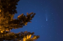 Comet Neowise as seen from Traverse City MI