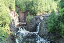 Copper Falls Wisconsin Most amazing hike Ive ever taken