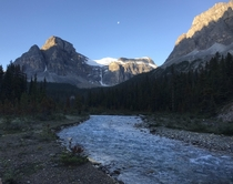 days progress in Banff back country backpacking - an uncommon view of Banffs wonders x