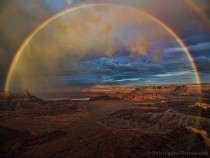 Degree Rainbow Dead Horse Point Moab Utah