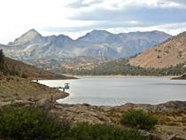 Feet Above Sea Level Saddlebag Lake Inyo National Forest California