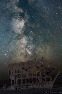 Final Resting Place Wreck of the Peter Iredale Hammond OR