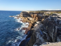 first visit to the coast since all the chaos hit love these cliffs and the gorgeous ocean South Sydney x OC