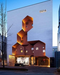 flagship store in South Korea by TRU Architects