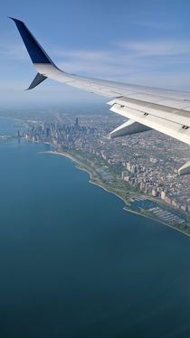 Flying into OHare Chicago