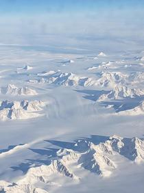 Flying over Greenland Feb   x
