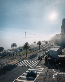 Foggy and sunny vibes in San Francisco