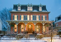 French-inspired Second Empire Victorian Mansion renovated  - Middletown Delaware