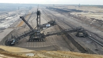 Garzweiler Coal mine in Germany