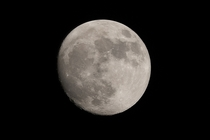 handheld shots of moon stacked together in Registax -