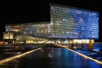 Harpa Concert Hall and Conference Centre Reykjavk Iceland  Designed by Henning Larsen Architects  Olafur Eliasson