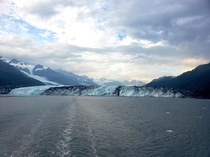 Harvard Glacier Alaska taken by yours truly Overwhelming beautiful