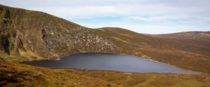 Heart Shaped Lake in Wicklow National Park Ireland Ultrawide K x domferr