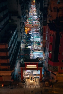 Hong Kongs street markets sure are vibrant