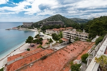 hotels built for Yugoslavias military elite that were destroyed and abandoned during the Croatian War of Independence in the s
