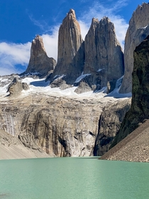 hours trekking to see this SURREAL Base das Torres Torres del Paine National Park Chile