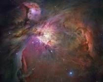 Hubbles sharpest view of the Orion Nebula