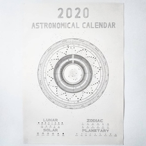 I decided to draw an astronomical calendar for  and heres how it turned out