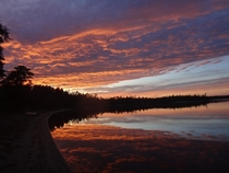 I was a canoeing guide for two summers in southern Ontario CA near Atikokan Most beautiful views every day and night