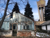 Image of an abandoned silviculture institute Romania