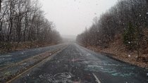 In  I decided to travel an hour to Centralia Pennsylvania in a snow storm This is the town Silent Hill is based on