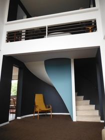 Interior at Highpoint Highgate London UK by Berthold Lubetkin -