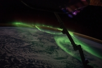 International Space Station sees Aurora South of Australia